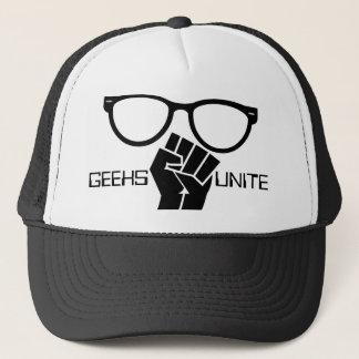 Geeks Unite! Trucker Hat