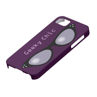 Geeky Cateye Glasses iPhone 5 Case