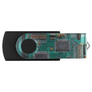 Geeky, circuit board, computer motherboard USB flash drive