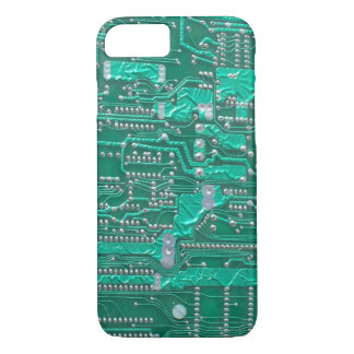 Geeky Circuit Board iPhone case