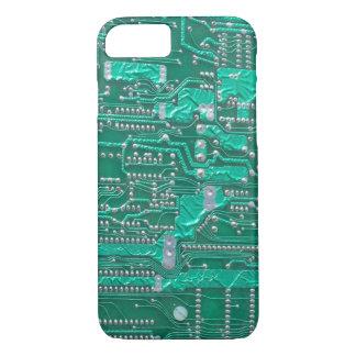 Geeky Circuit Board iPhone case