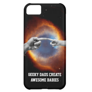 geeky dads create awesome babies iphone cover case