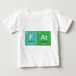 Geeky Fat Periodic Elements Infant T-Shirt