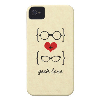 Geeky Glasses BT iPhone 4 Case