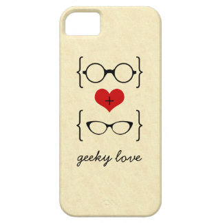 Geeky Glasses BT iPhone 5 Case