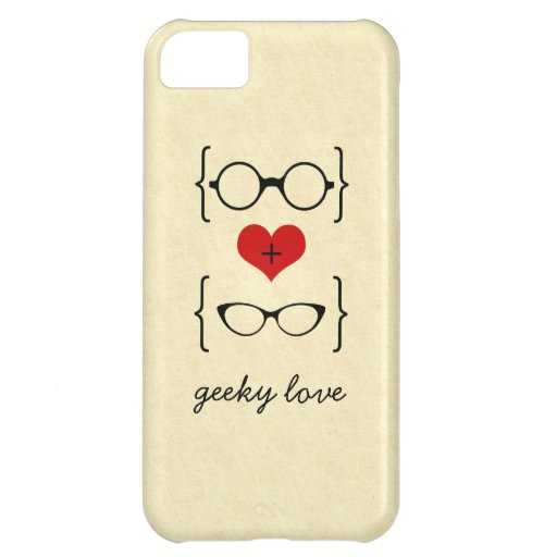 Geeky Glasses BT iPhone 5C Case