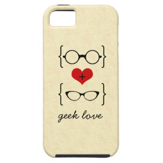 Geeky Glasses iPhone 5 Vibe Case