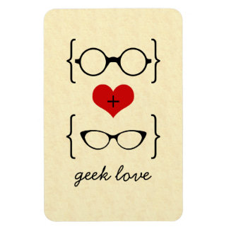 Geeky Glasses Premium Magnet