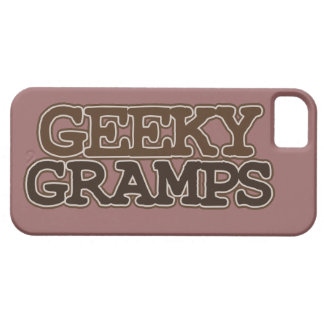 Geeky Gramps iPhone 5 Cases