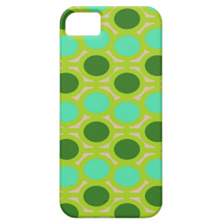 Geeky Green Eyelets iPhone 5 Cover