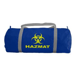 Geeky Hazmat Gym Bag Gym Duffel Bag