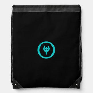 Geeky Icon Drawstring Bag