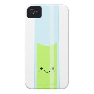 Geeky kawaii test tube iPhone 4 case