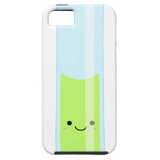 Geeky kawaii test tube iPhone 5 cover