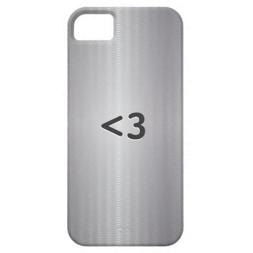 Geeky Love Metallic iPhone 5 Case
