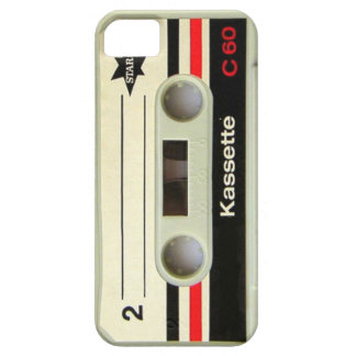 Geeky nerdy 1980s cassette retro cassette tape iPhone 5 case