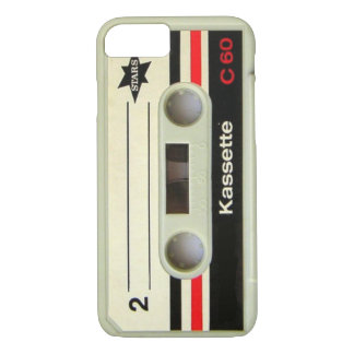 Geeky nerdy 1980s cassette retro cassette tape iPhone 7 case