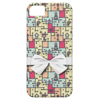 geeky robot maze pattern vector case for the iPhone 5