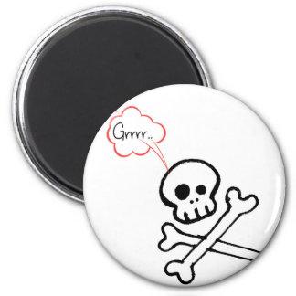 Geeky Skull Fridge Magnets