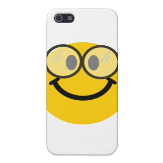 Geeky smiley iPhone 5 cover