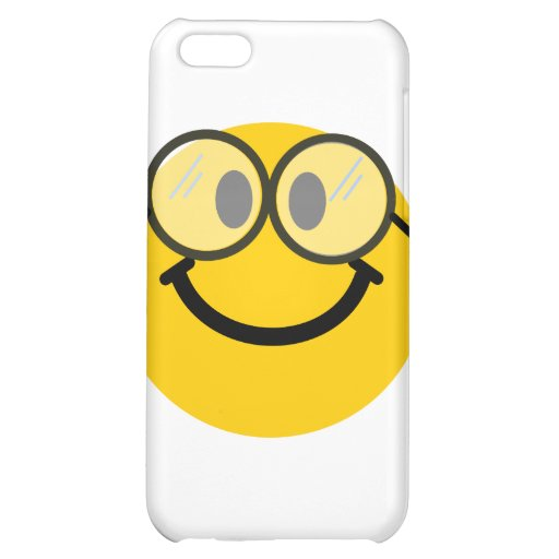 Geeky smiley cover for iPhone 5C
