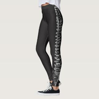 Geeky Spine Anatomy Spinal Cord Vertebral Column Leggings