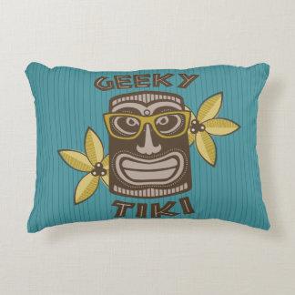 Geeky Tiki Decorative Cushion