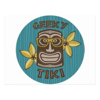 Geeky Tiki Postcard