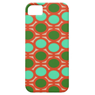 Geeky Two Toned Green Bubble Eyelets iPhone 5 Cases
