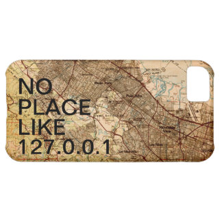 Geeky Vintage Silicon Valley Map iPhone Case iPhone 5C Case