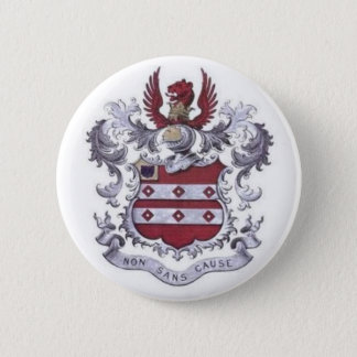 GEER Family Crest 6 Cm Round Badge