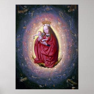 Geertgen tot Sint Jans The Glorification of Virgin Poster