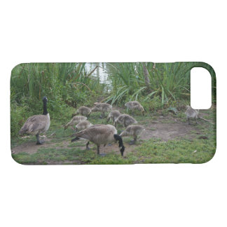 Geese and Goslings iPhone 7 Case