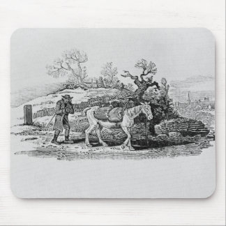 Geese carried to market mouse pad