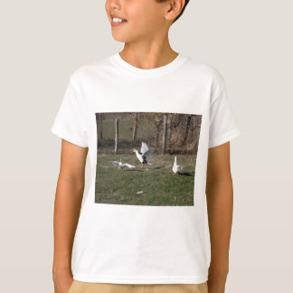 Geese fighting T-Shirt