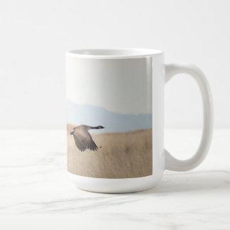 Geese in Flight Coffee Mug