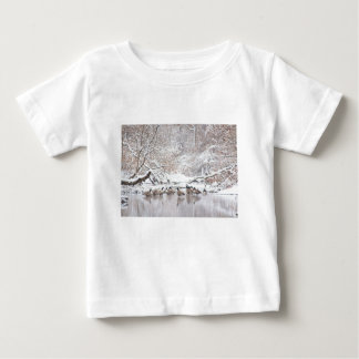 Geese in Snow Baby T-Shirt