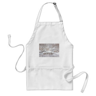 Geese in Snow Standard Apron