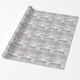Geese in Snow Wrapping Paper