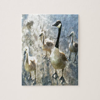 Geese Jigsaw Puzzle