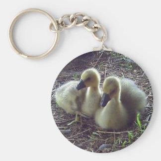 Geese Key Ring