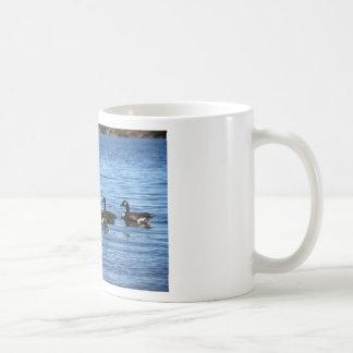 Geese on Lake Coffee Mug
