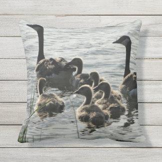 Geese on Lake Pillow