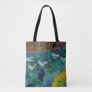 Geese on the canal bag