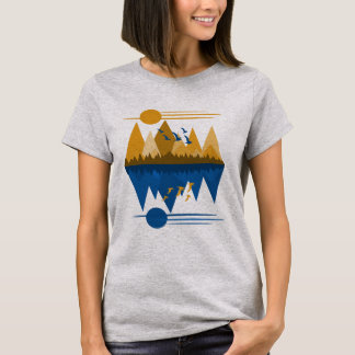 Geese on The Wing T-Shirt