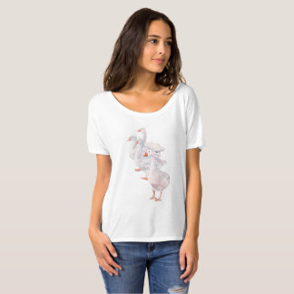 Geese Original Art Women's Shirt
