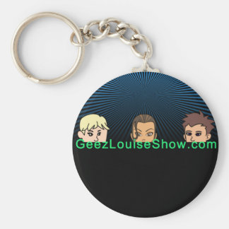 Geez Louise Group Dark Keychain