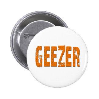 Geezer 6 Cm Round Badge