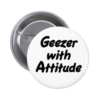 Geezer with Attitude button