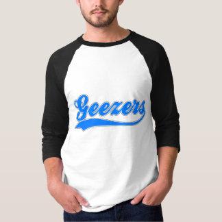Geezers Faux Baseball Jersey T-Shirt